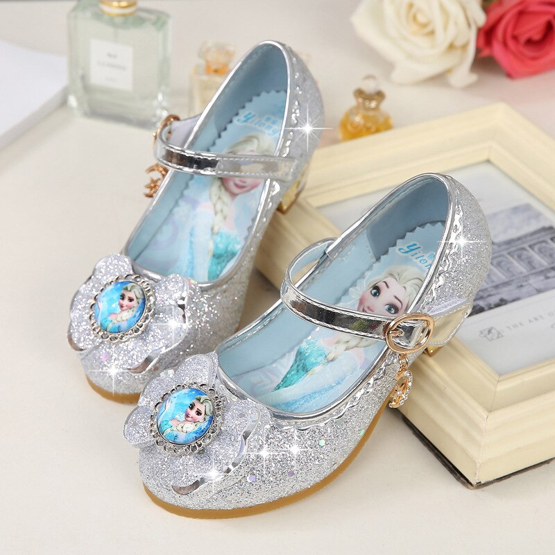 Zapatos de baile y fiesta para niñas, zapatos planos de primavera para niñas de 3 a 15 años de edad, zapatos de cuero a la moda para niñas