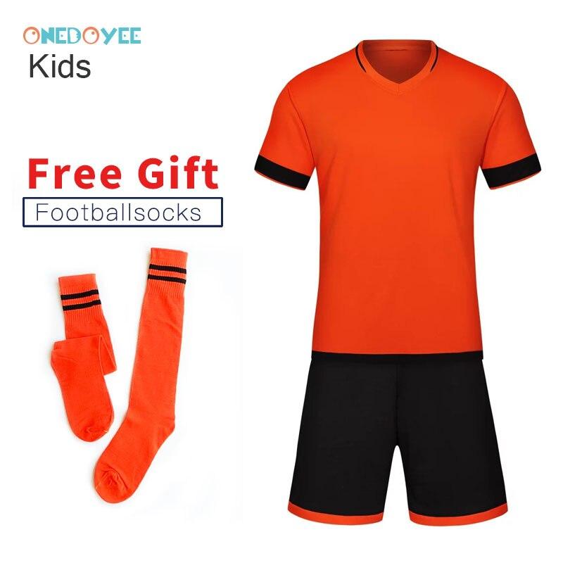 ONEDOYEE, uniformes de fútbol para niños, uniformes de fútbol para niños, conjuntos de entrenamiento, Jersey personalizado, transpirable, conjuntos de fútbol para niños