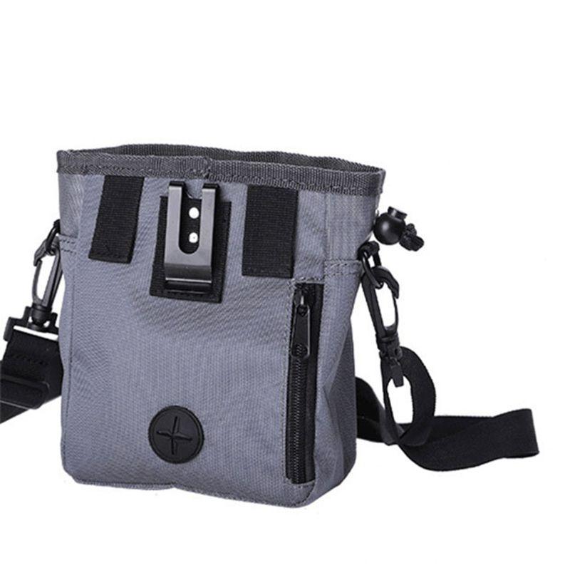 Detachable Pet Training Treat Snack Bag Dog Pouch Feed Pocket Waist Bucket Nylon Shoulder Bags