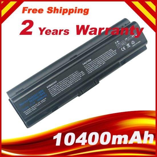 A HSW 8800 mAh bateria Para Toshiba pa3534u pa3534 PA3534U-1BAS PA3534U-1BRS Satellite A300 A500 L200 L300 L500 L550 L555 bateria