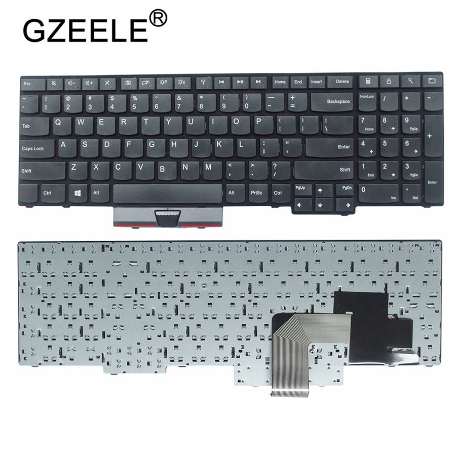 GZEELE новая клавиатура для Lenovo для IBM, thinkpad E530C E530 E545 E535 E530 US английская раскладка