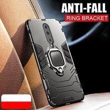 Armure anneau pour coque pour oneplus 8 pro étui magnétique voiture tenir antichoc doux pare-chocs arrière couverture de téléphone pour un plus 8 7 7t pro