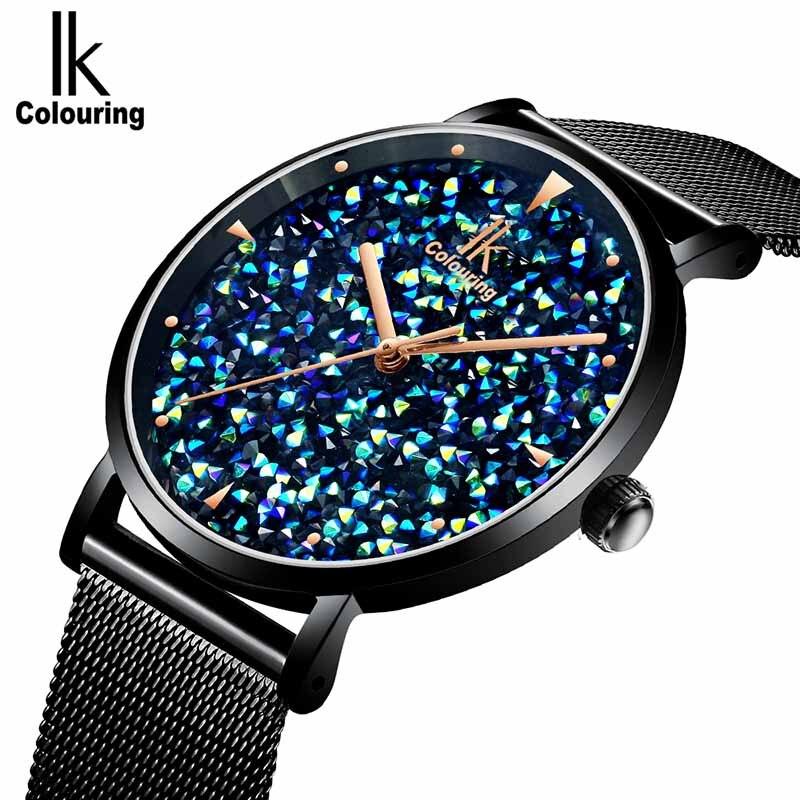 Luxury Women Watches Ladies Magnetic Gypsophila dial Watch quartz watches Waterproof steel belt Wristband girl gift clock