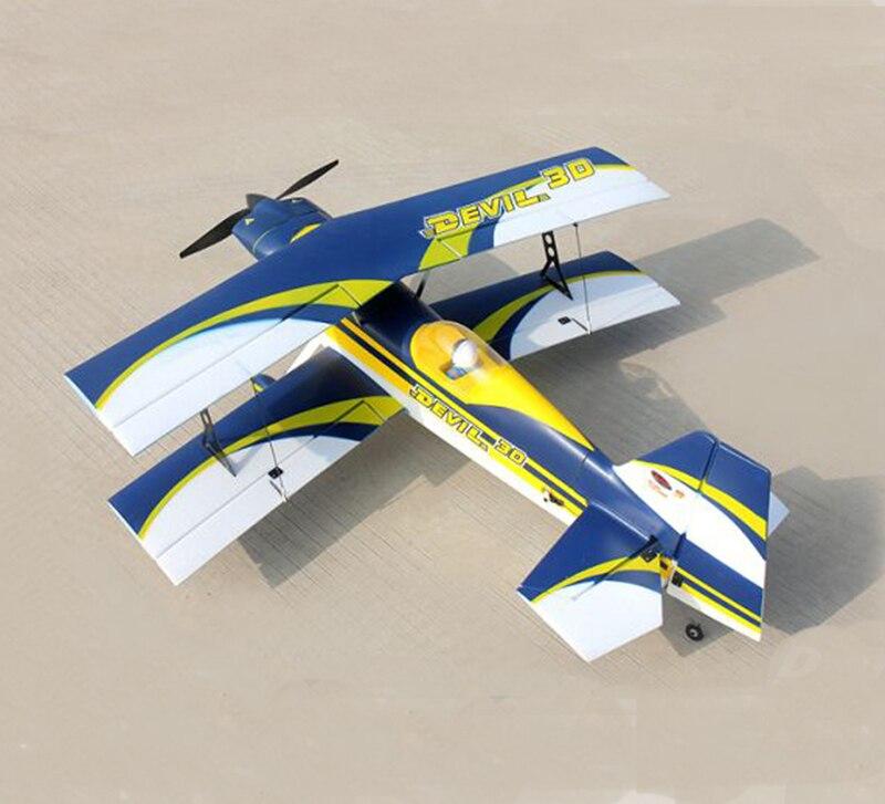 Dynam 1130MM Devil 3D RC PNP/ARF Propeller Plane W/ Motor ESC Servos W/O Battery TH03662