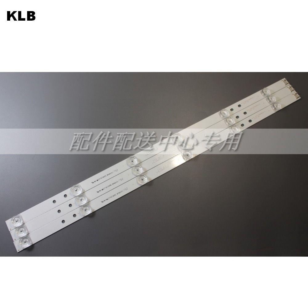 "Светодиодные ленты для телевизора LG 32 "", 3 шт., 6 ламп, 32MB25VQ 6916l-1974A 1975A 1981A lv320DUE 32LF5800 32LB5610 innotek drt 3,0 32"