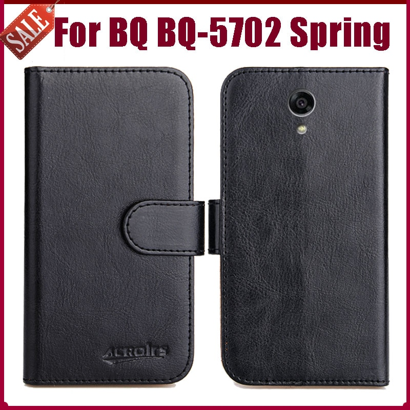 Hot Sale! BQ BQ-5702 Spring Case New Arrival 6 Colors High Quality Flip Leather Wallet Protective Ph