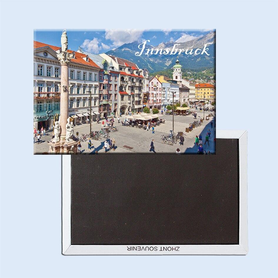 Imanes de nevera Innsbruck 21614 Austria atracción turística