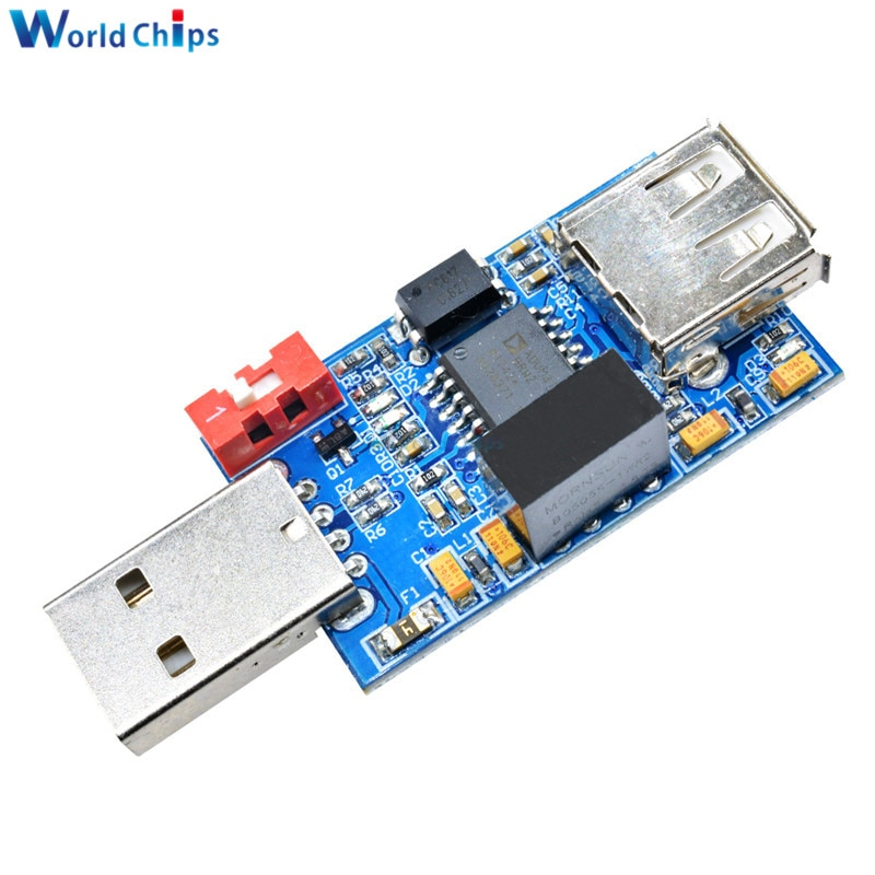 1500V USB zu USB Isolator Board Schutz Isolation Für ADUM4160 ADUM3160 Modul USB 2.0
