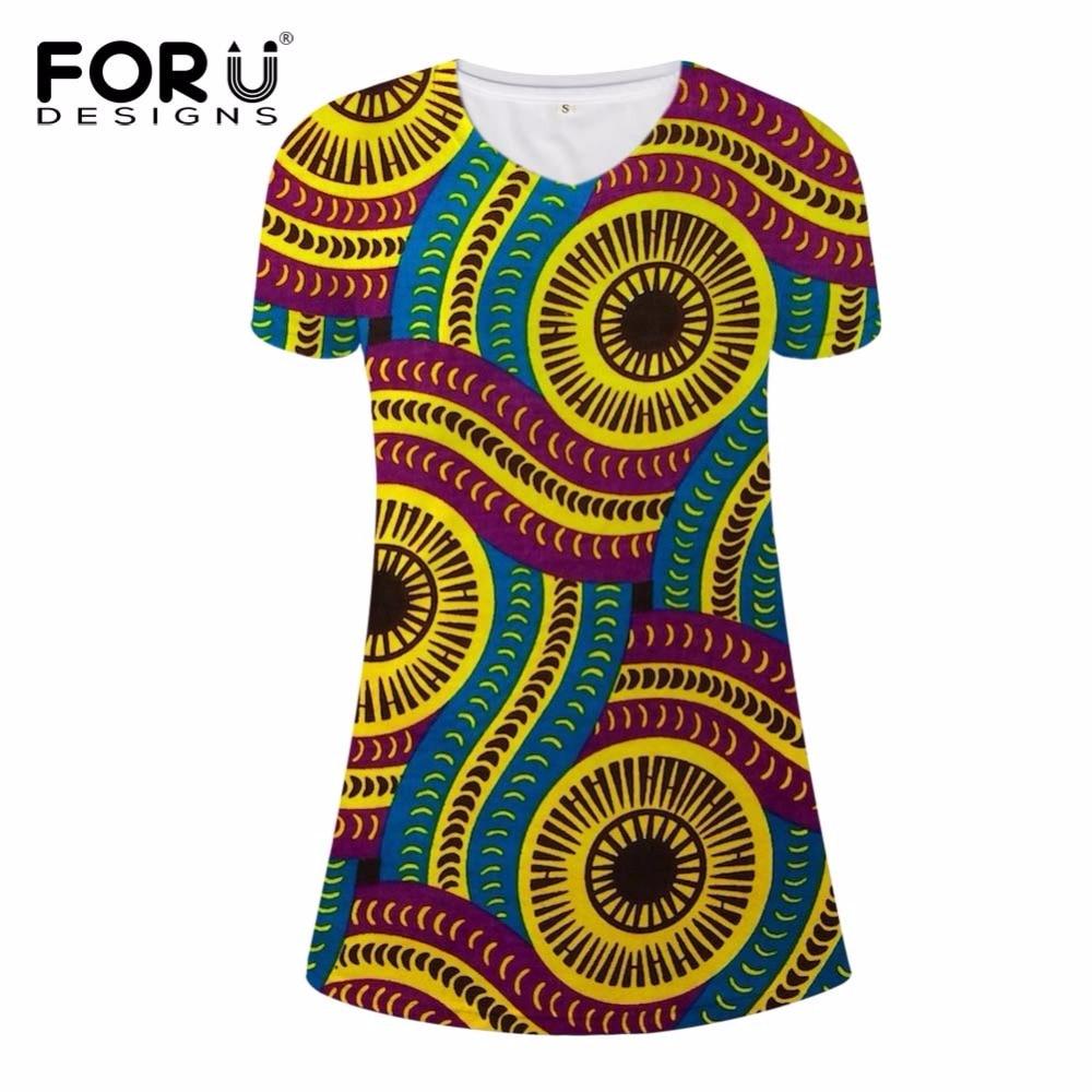 2017 Sexy Women Summer Raditional African Print V-Neck Dress Bodycon Casual Dresses Short Sleeve Vestidos Dashiki Beach Dress недорого