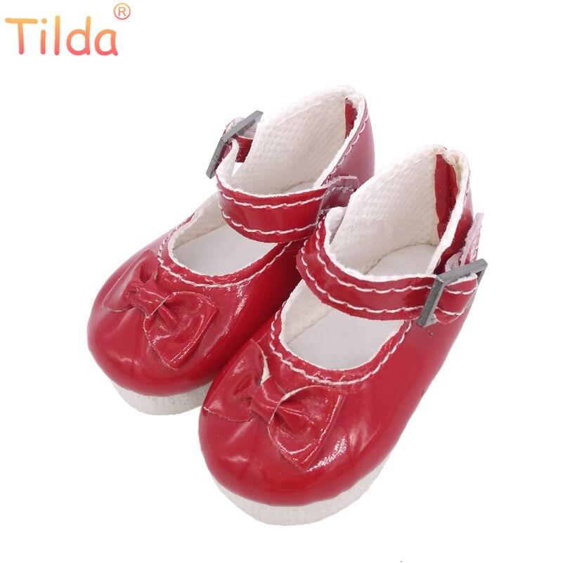 Кукла Тильда 5,6 см с бабочкой, обувь для кукол Paola Reina Corolle, игрушки для кукол, 1/6 мини-обувь для кукол, аксессуары