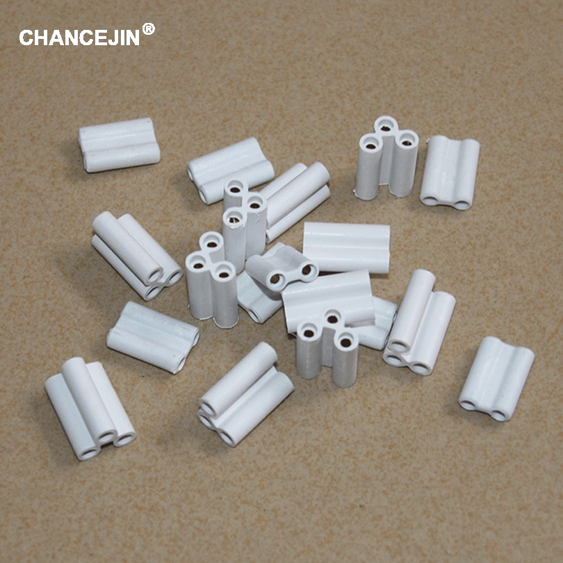 A unidade comum sem emenda do conector da luz e fluorescente do diodo emissor de luz seja usada na lâmpada t4 t5 t8 do tubo 2 pinos 3 conectores rígidos núcleo de cobre