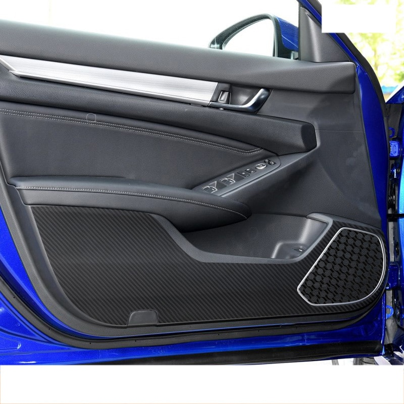 Lsrtw2017 углеродное волокно ПВХ автомобильная дверь анти-ударная пленка для Honda CR-V hr-v odyssey city grace fit civic accord