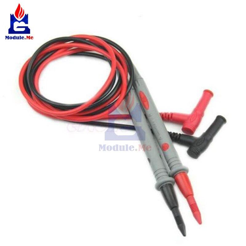 1 Pair Sonda Universale di Cavi Test Spille per Multimetro Digitale Ago Punta Tester Multi Meter Tester Piombo Sonda Wire Pen cavo 20A