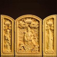 Buches ouvertes faites à la main   Sculpture de bouddha, Maitreya Fulushou Statues de bouddha, dieu Guanyin Bodhisattva