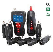 Noyafa NF-8601W multifunción Tester de Cable Lan comprobar el PING , POE funciones de conversación cruzada medir la longitud del cable de red