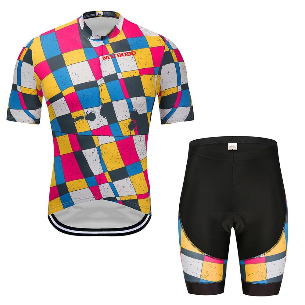 Conjunto de ropa de ciclismo para hombre, ropa de ciclismo de montaña,...