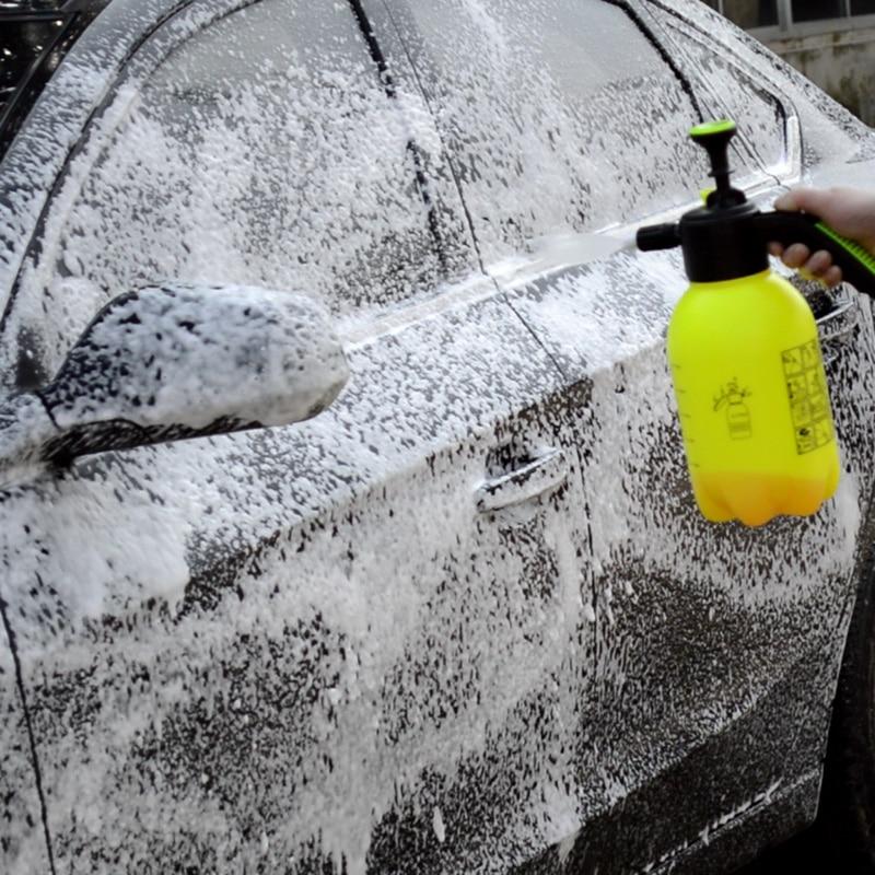 Hand Pump Foam Sprayer Hand Pressurized Foam Sprayer 2 Litre Pressure Foam Cannon Snow Foam Nozzle C