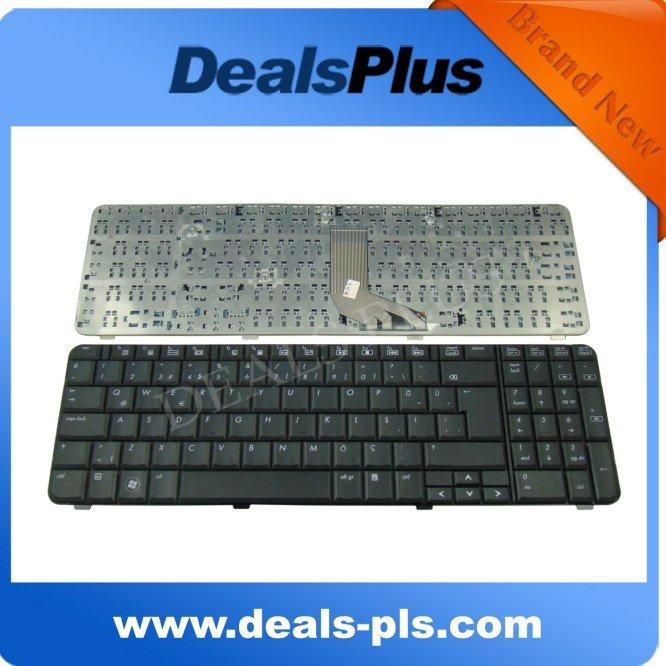 NOVO Para HP Compaq Presario CQ61 G61 Klavye Turco TR Teclado Preto