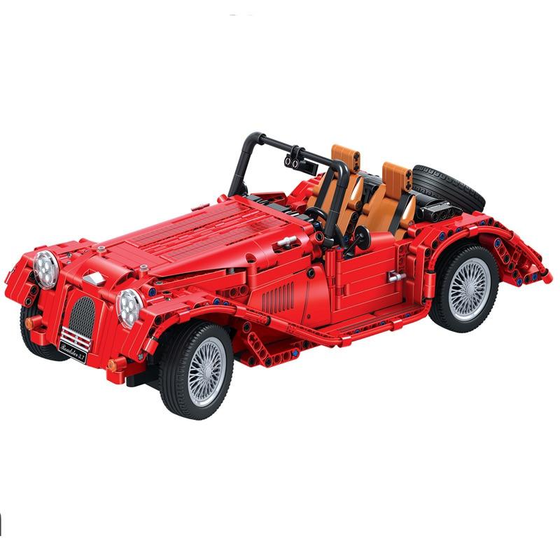 Technology Assembled Series Convertible Classic Car Building Blocks Legoings Educational Toys Bricks Children's Gifts DBP389