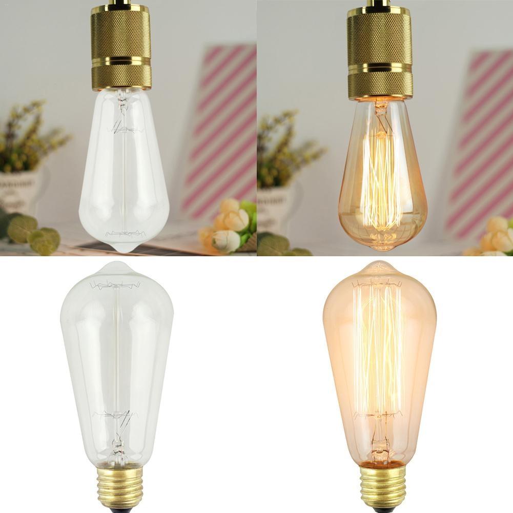 KAIGELIN E27 220V 110V Retro Decorative Light Bulb Art Chandelier Lamp Bulb Dropship 6.21