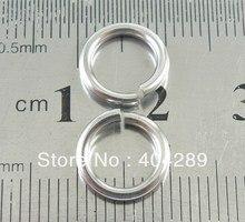 En gros 200 pièces 1.5*10mm 316L de Saut En Acier Inoxydable Anneaux, bijoux à bricoler soi-même Trouver Homard Fermoir Anneaux Fendus