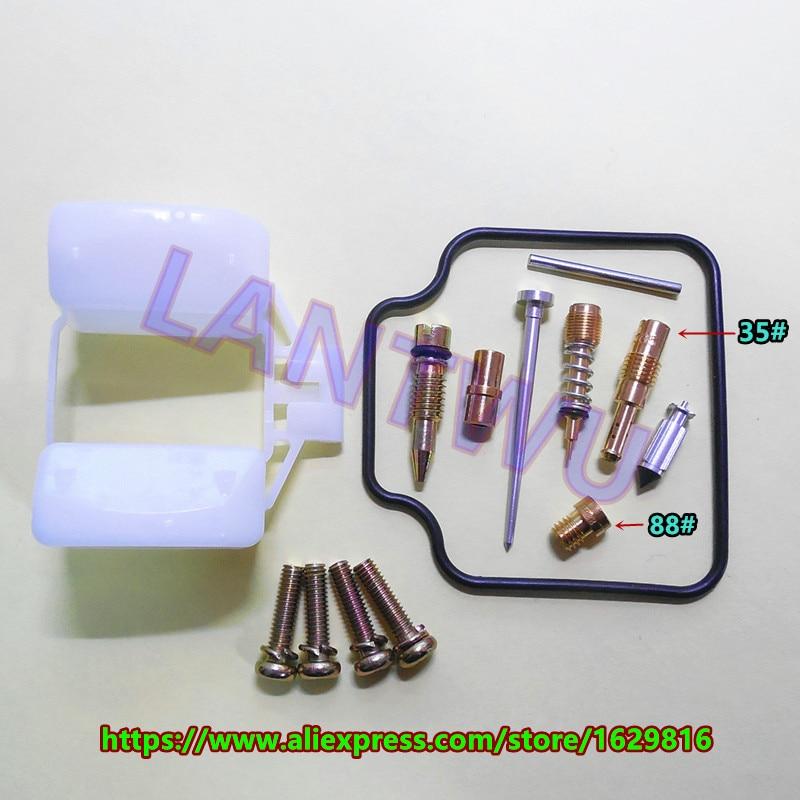 (1 set $ 8.5) HMHonda twin-cylinder four-stroke HG125-3A CBT-125T Keihin carburetor repair kits
