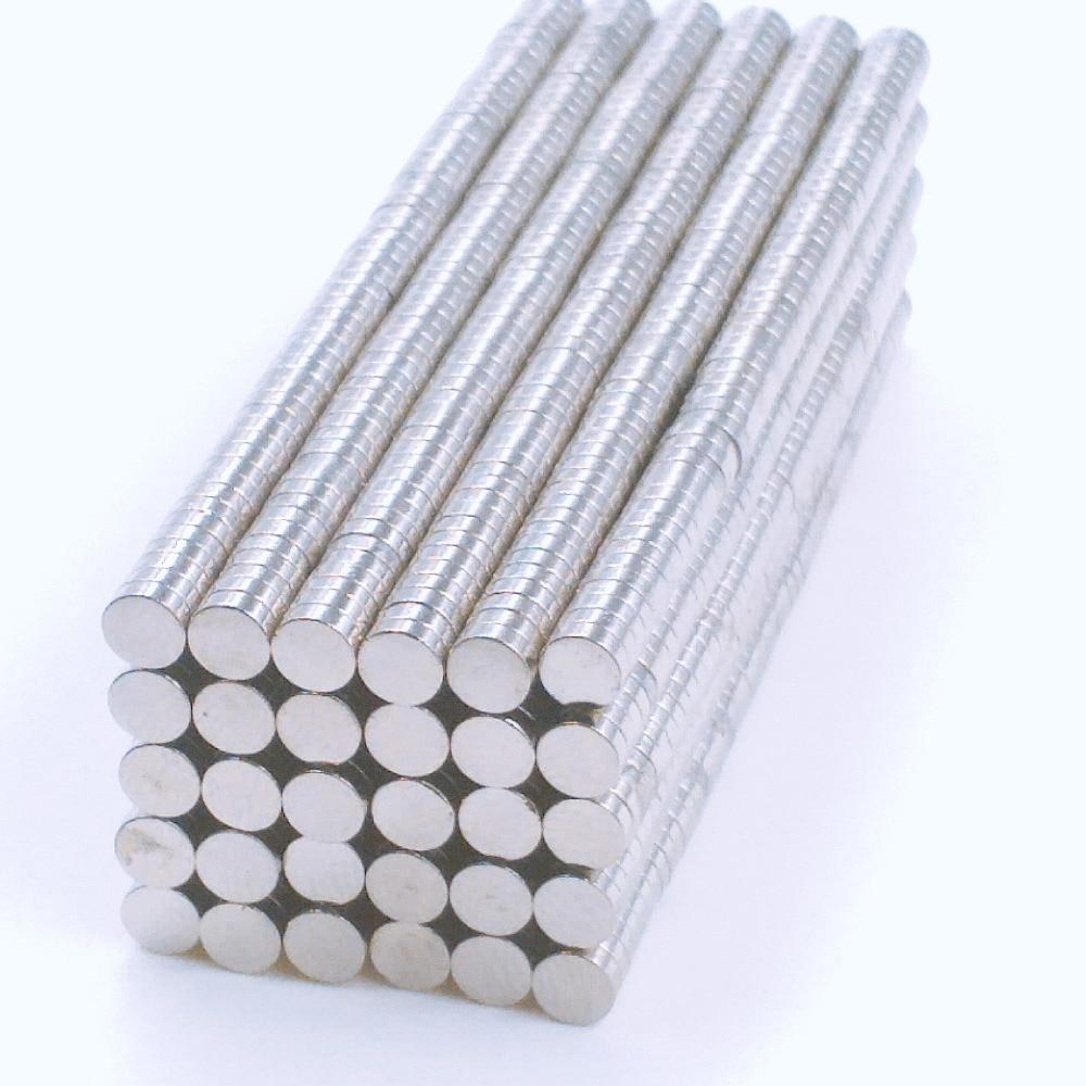 50/100/200 Uds 3x1mm muy potente fuerte disco de neodimio de tierras raras imanes de 3x1mm n35 pequeño imán redondo 3*1