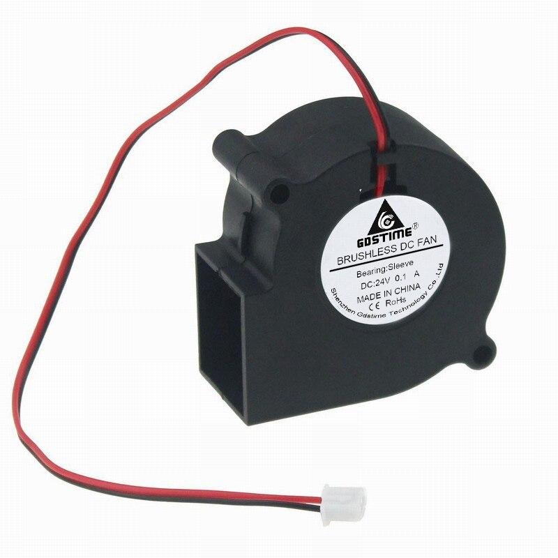 2 piezas 80mm 80 6 cm 60mm x 28mm 6028 24 V DC de escape sin escobillas ventilador Turbo ventilador de refrigeración 60x28mm