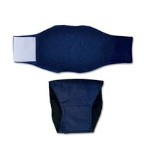 Couche plastique pour chien de compagnie   Pantalon physique en coton, couches de chien, serviettes hygiéniques, pantalon hygiénique, sous-vêtements