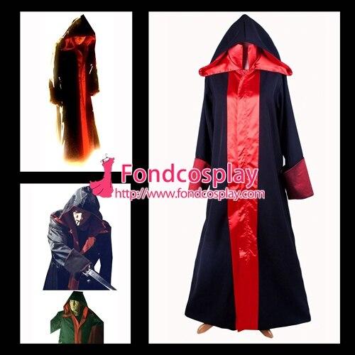 Serra jigsaw casaco tobin bell jacke filme cosplay traje sob medida [g1403]