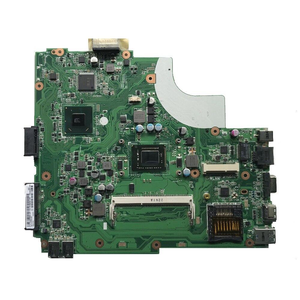Para ASUS X44H K84L X84H K43L placa base de computadora portátil con i3-2330M DDR3 K43L REV 5,0 de trabajo de 100%
