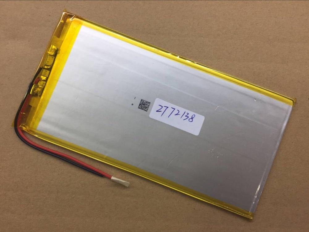 Ailinhao 3,7 V 3070135 2772138 batería de polímero de litio 4500 mah y 9 pulgadas baterías de tableta de gran volumen Delgado 3075135