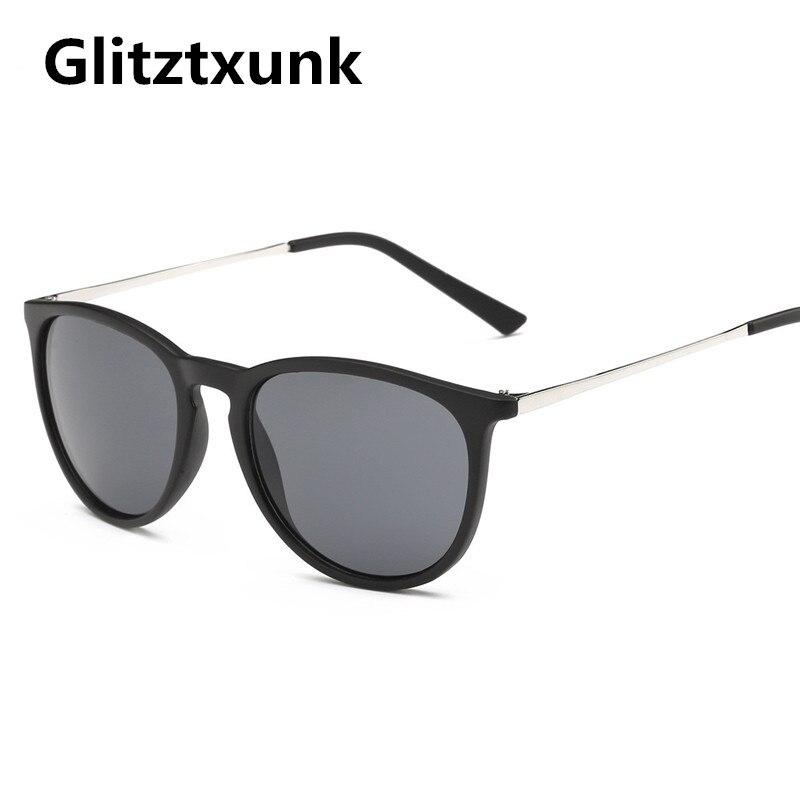 Glitztxunk Cat Eye Sunglasses Women Men Brand Designer 2019 Vintage Sun Glasses for Women UV400 Gogg