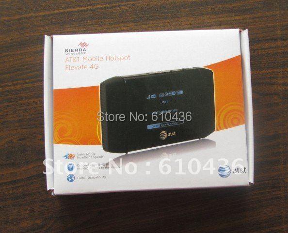 Freeshipping desbloqueado Sierra Wireless 754 S 3G 4G WiFi móvil de AT & T Hotspot HSPA + 100 Mbps para tablet teléfono computadoras ipad