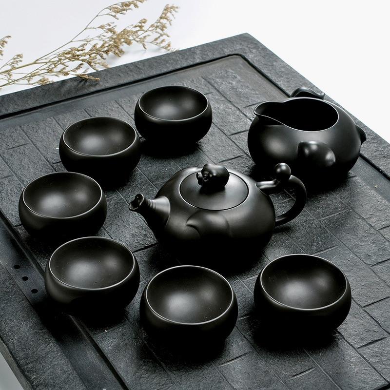 Yixing Zisha أطقم شاي علب الهدايا Zisha الأواني وعاء أكواب شاي المصنعين الجملة هدايا الشاي
