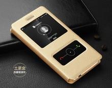 Кожаный чехол с окошком A9, чехол для Huawei GR 3 GR3, TAG-L03, TAG-L13, TAG-L21
