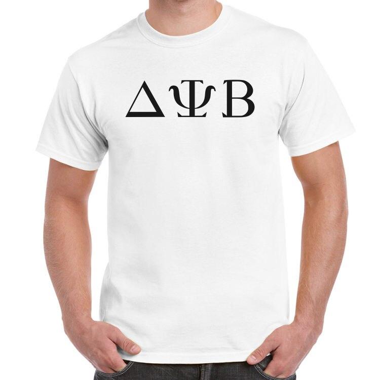 Camiseta delta psi beta logo zac efron vizinhos 2 fraternidade subindo branco
