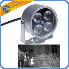 Mini CCTV LEDS 4 array IR led-verlichting IR Infrarood waterproof Night Vision CCTV Vullen Licht Voor CCTV Camera ip camera