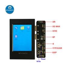 Sensor de luz ambiental PHONEFIX herramienta de lectura y escritura para iPhone 8 8P X XS MAX XR pantalla LCD EPROM lectura de datos fotosensible