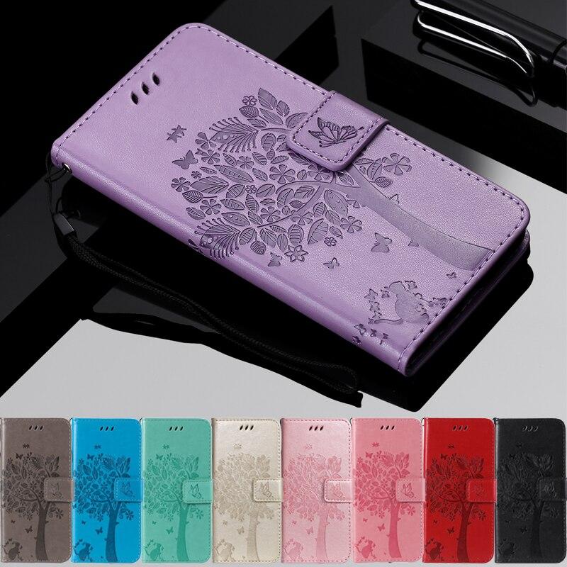 For Xiaomi Mi 8 Lite Case Leather Cover Mi8 Flip Wallet Magnetic Phone Case For Xiomi Mi 8 6 5 5X Pl