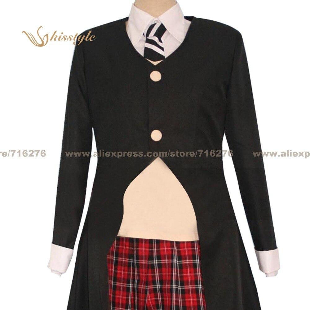Moda Kisstyle Soul Eater Maka Albarn uniforme COS ropa Cosplay traje, personalizado aceptado