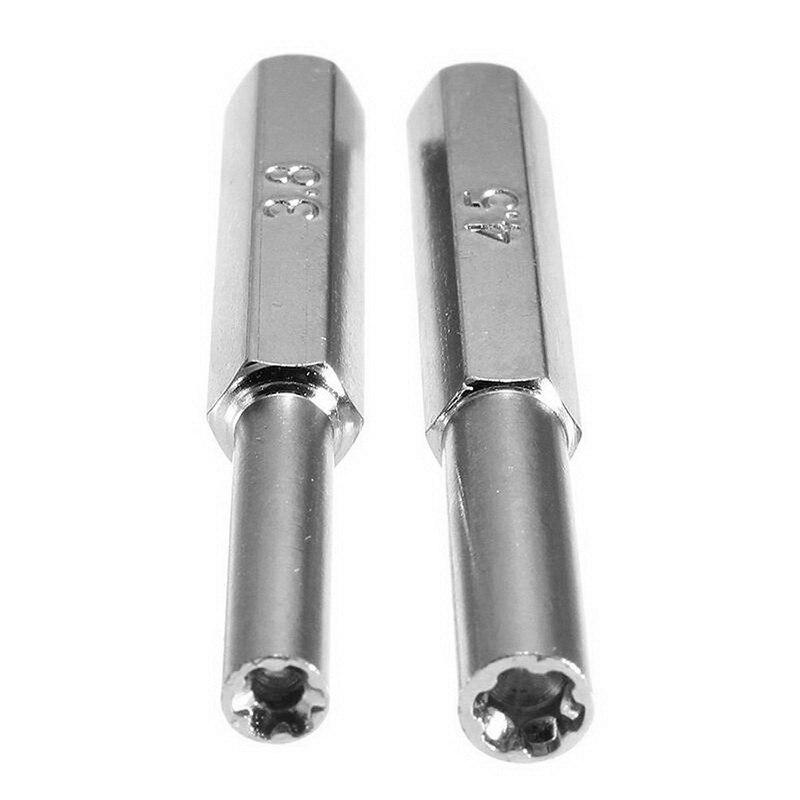 Профессиональный источник питания NGC/N64/SFC/Wii, специальная отвертка, 2 шт., отвертка 3,8 мм + 4,5 мм, отвертка для безопасности, инструмент