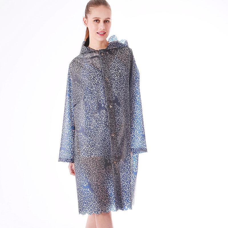 Yuding-chubasquero Impermeable de TPU para Mujer, ropa Impermeable de encaje a la...