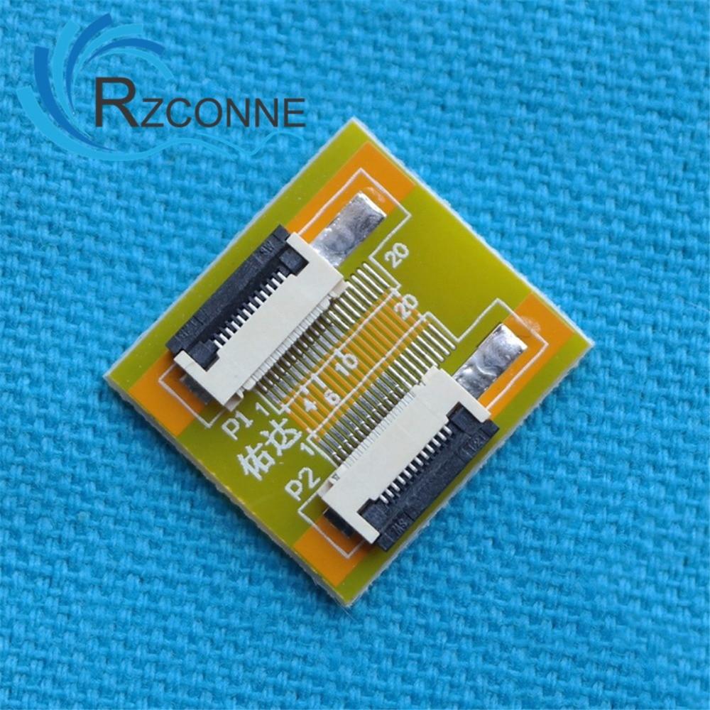 12 pines a 12 pines 0,5mm FFC Cable extensión conector Adaptador 3...