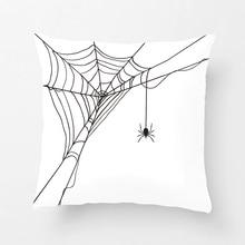 Наволочка для подушки на Хэллоуин с изображением паука и паука, декоративная наволочка для подушки, домашний декор от Lvsure