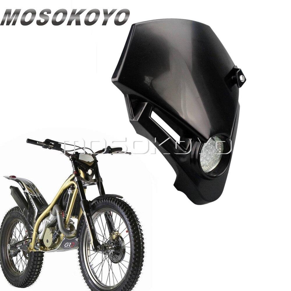 Mini faro LED para moto de cross, faro para Supermoto, carenado para Gas TXT Pro EXC 250 280