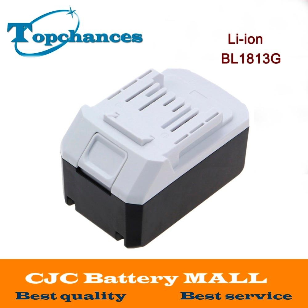 De alta calidad de 18V 4.0Ah Li-Ion batería para Makita BL1813G DF457D HP457D JV183D TD127D UR180D UH522D CL183D de herramienta de poder