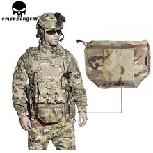 EMERSONGEAR Armor Carrier Drop Pouch AVS JPC CPC Tactical Dump Pouch Airsoft Plate Carrier Bag Tool Pouch Multicam EM9283