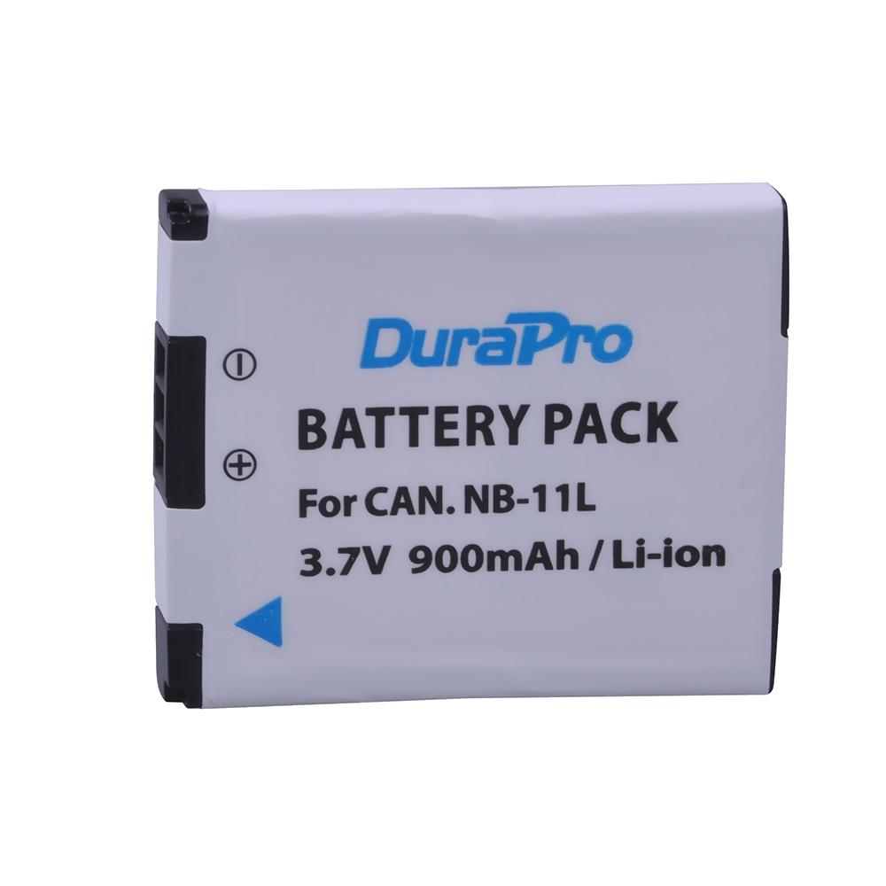 Durapro 3.7 v 900 mah NB-11L NB-11LH bateria para canon powershot a2300 é a2400 é a2500 a2600 a3400 é a3500 é elph 110 hs