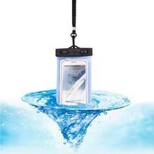 Outdoor Round Folder Waterproof Bag Mobile Phone Bag Swimming Rafting Water Sports Bags For Diving